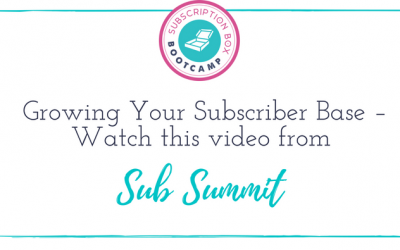 Growing Your Subscriber Base – Watch this video from Sub Summit