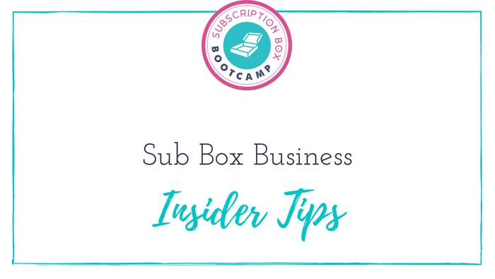 Sub Box Business Insider Tips