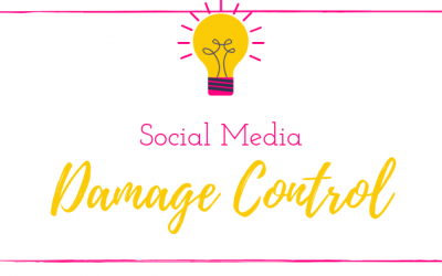 Social Media Do's, Don'ts and Damage Control