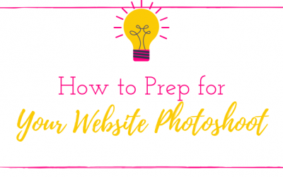 How to Prep for your Website Photoshoot