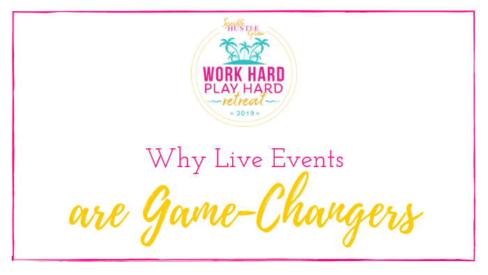 Why Live Events are Game-Changers