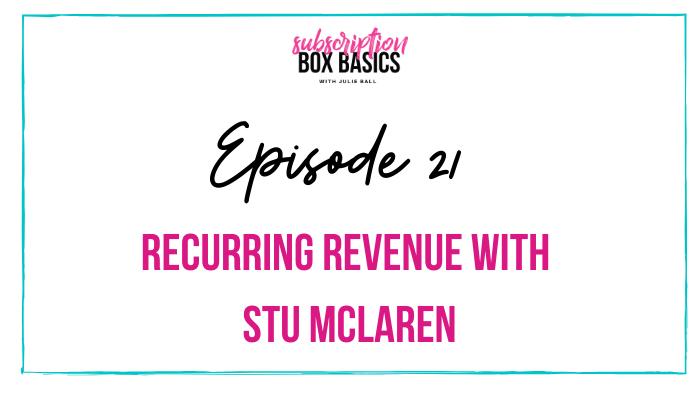 Recurring Revenue with Stu McLaren