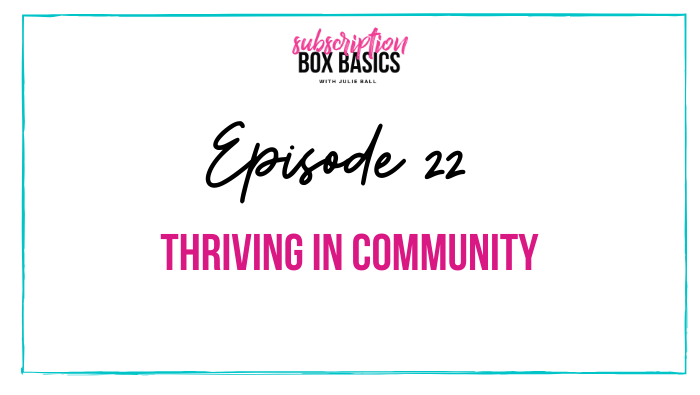 Thriving in Community