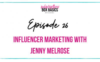 Influencer Marketing with Jenny Melrose