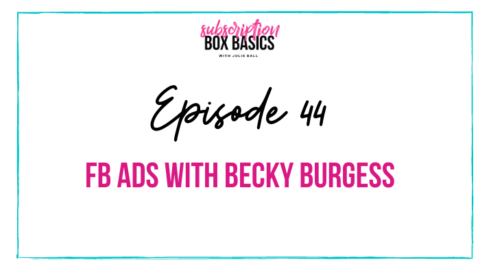 FB Ads with Becky Burgess