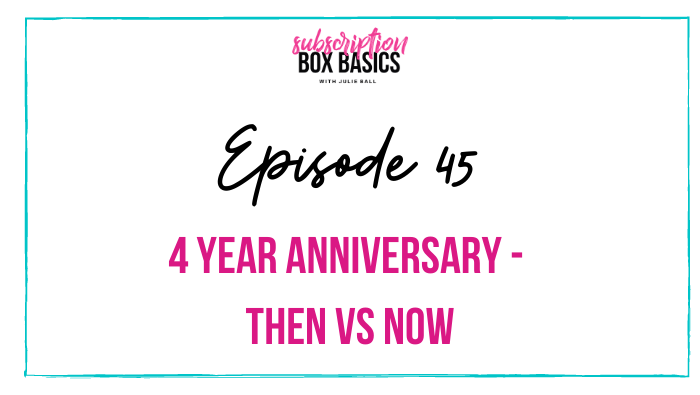 4 Year Anniversary – Then vs Now