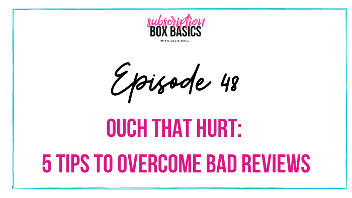 Ouch That Hurt: 5 Tips to Overcome Bad Reviews