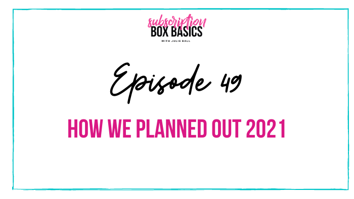 How We Planned Out 2021