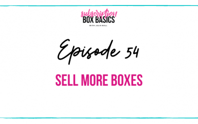 Sell More Boxes