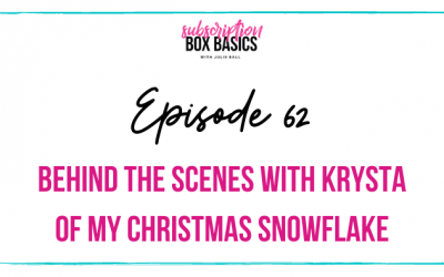Behind the Scenes with Krysta of My Christmas Snowflake