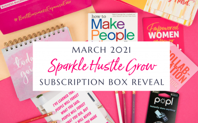March 2021 Sparkle Hustle Grow Subscription Box Reveal