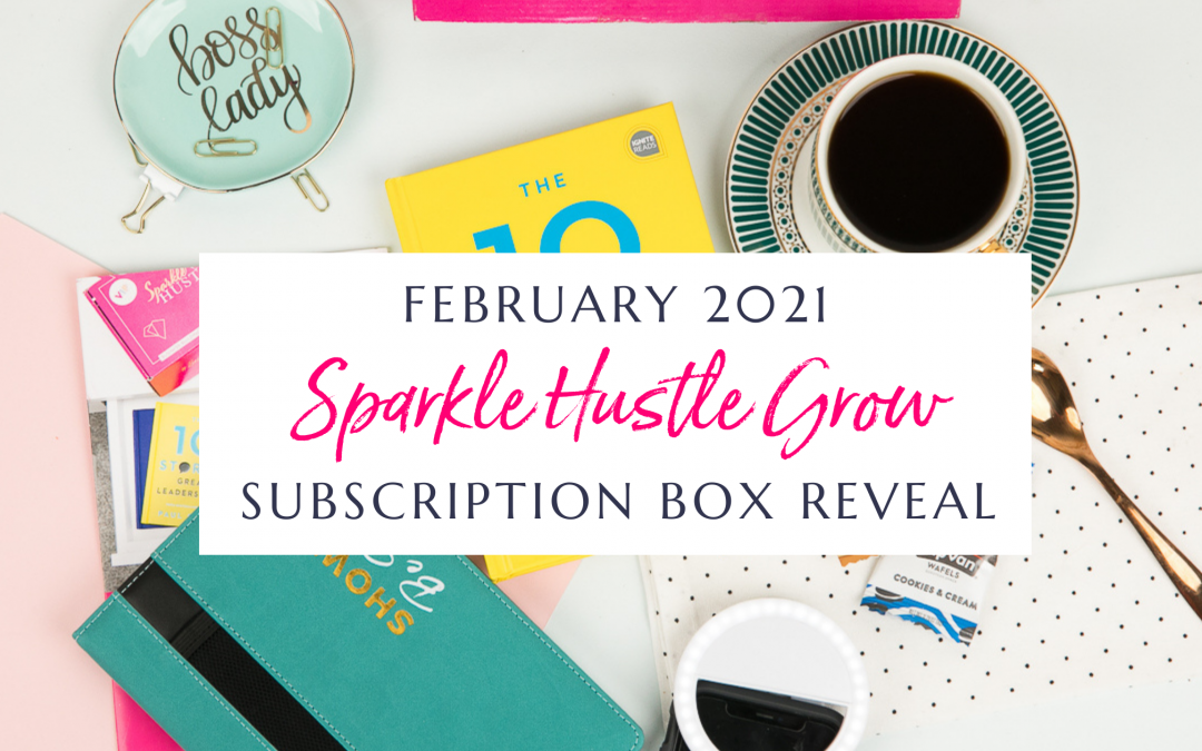 February 2021 Sparkle Hustle Grow Subscription Box Reveal