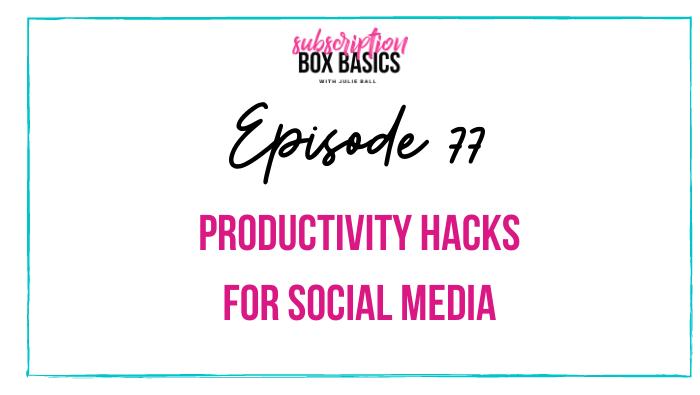 Productivity Hacks for Social Media