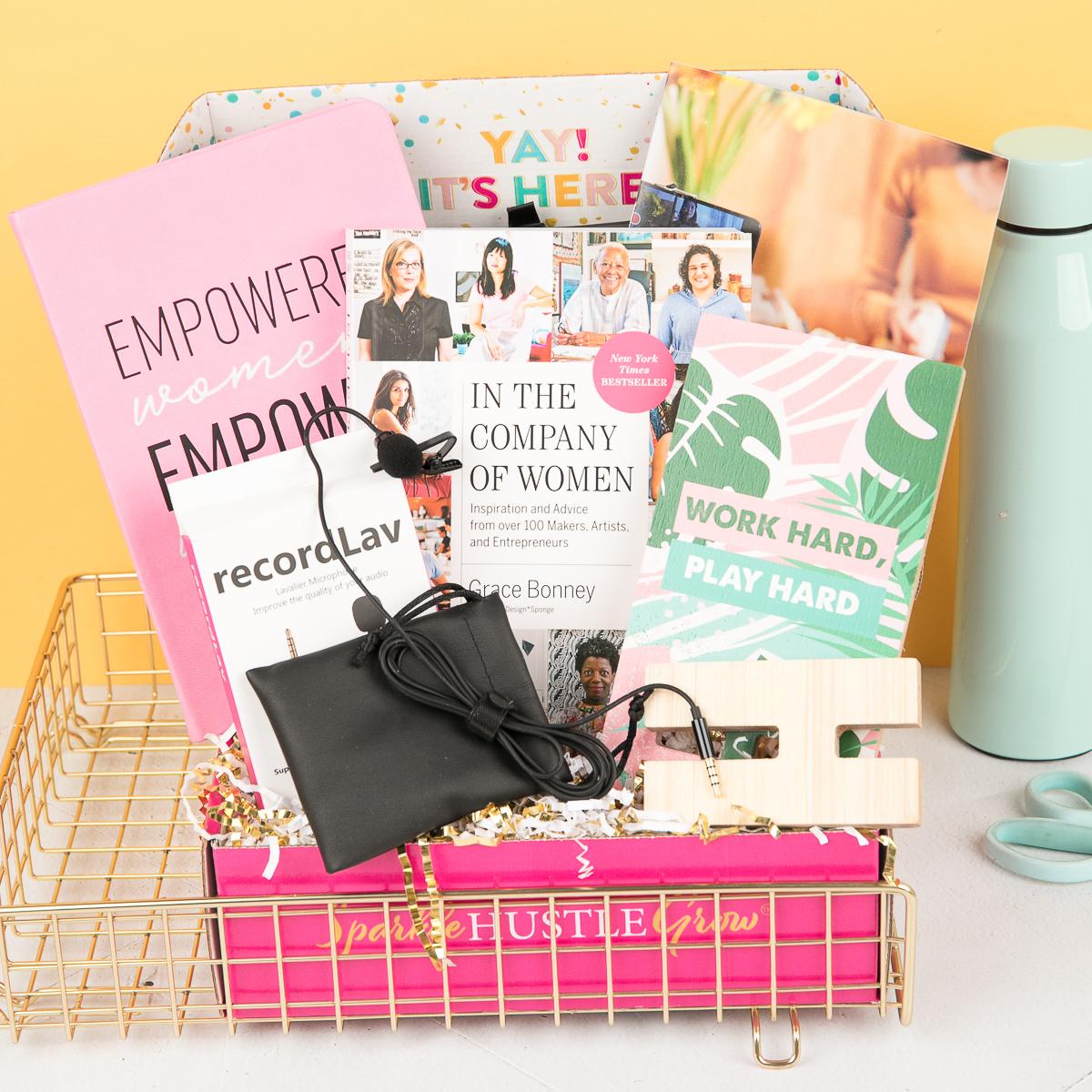 July 2021 Sparkle Hustle Grow box