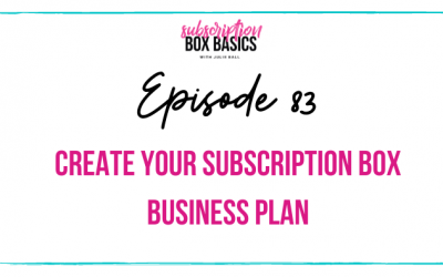 Create your Subscription Box Business Plan